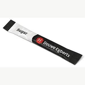 Sukker sticks Douwe Egberts, karton a 500 stk.