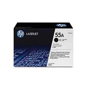 Toner HP CE255A, Reichweite: 6.000 Seiten, schwarz