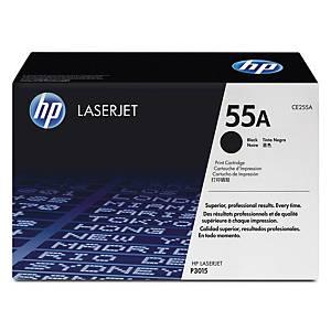 HP 55A CE255A laservärikasetti musta