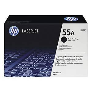 Lasertoner HP 55A CE255A, 6 000 sidor, svart