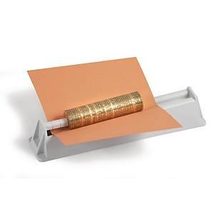 Appareil confection rouleaux  monnaie Rieffel, centrage des pièces, grs cl.