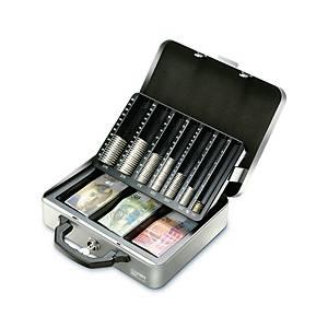 Geldkassette Moneta Deluxe CH, inkl. Münzeinsatz und 3tlg. Notenfach