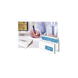 Enveloppe Lyreco Premium 110 x 220 - 90 g - siliconée fenêtre 35 x 100 - par 500