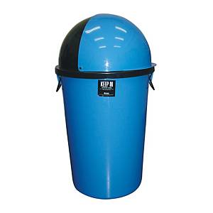 KEEP IN ถังขยะสเปซแคป ความจุ 75 ลิตร สีน้ำเงิน
