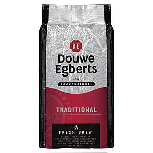 Douwe Egberts Fresh Brew Traditional Rood koffie, pak van 1 kg