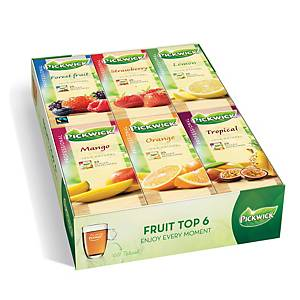 Pickwick tea bags fruit assortment - box of 6x25