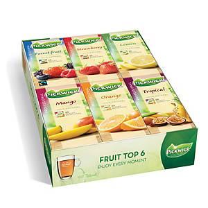 Pickwick fruitassortiment thee, doos van 150 theezakjes