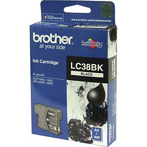 Brother LC38BK Inkjet Cartridge - Black