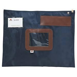 Dossier de circulation Alba, 420 x 320 mm, avec fermeture éclair, bleu