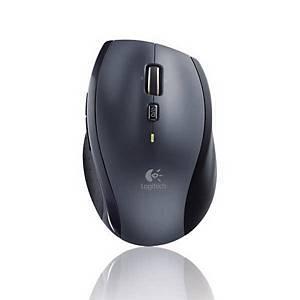 Maus Logitech Wireless M705, batterienbetrieben, schwarz/grau