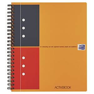 Oxford International Activebook A5+ notebook, ruled, 80 sheets
