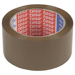 Fita adesiva de embalagem Tesa - 50 mm x 132 m - castanho