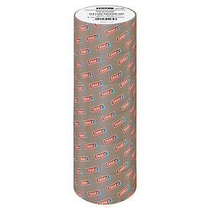 Cinta adhesiva de embalar Tesa 4100 - 50 mm x 66 m - PVC - marrón