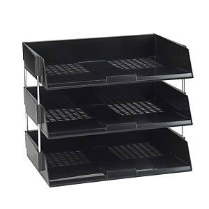 Avery W44BLK Original Wide Entry Tray, 367 x 63 x 254 mm