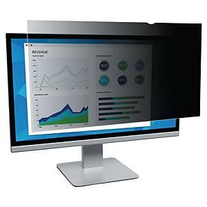 3M PF22.0W Sicherheitsfilter bei Breitformatbildschirm, schwarz, 22.0