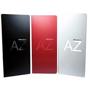 Porta-cartões Apli - 270 x 120 mm - 160 cartões - vermelho