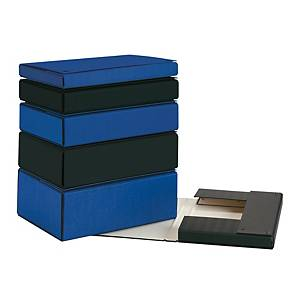 Carpeta de proyectos Pardo - folio - cartón - lomo 120 mm - azul