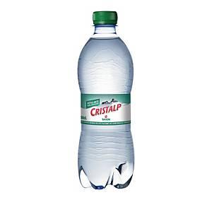 Cristalp Mineralwasser mit Kohlensäure 50 cl, Packung à 6 Flaschen