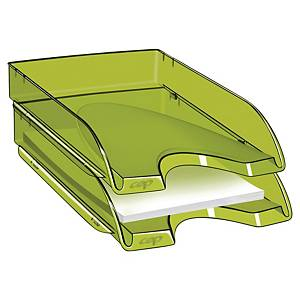 CEP PRO TONIC LETTER TRAY 64 X 260 X 345MM TRANSLUCENT GREEN