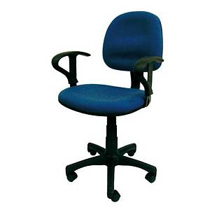 Sakura CG-888A Mid-Back Chair with Arm Blue