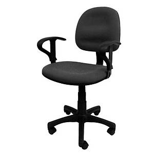 Sakura CG-888A Mid-Back Chair with Arm Grey