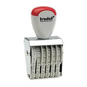 TRODAT ตรายางตัวเลข TR-1546 ตัวเลข 6 หลัก 4 มม.