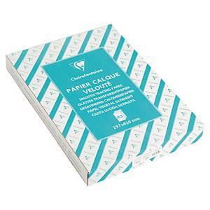 Papier calque A3 Clairefontaine - 90 g - ramette 500 feuilles