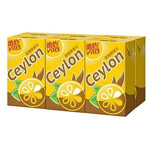 Vita 維他 鍚蘭檸檬茶250毫升 - 6包裝