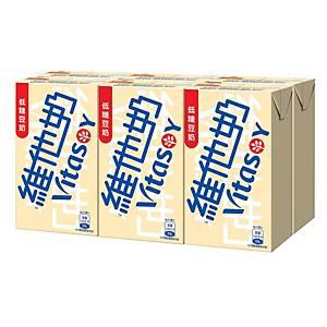 Vitasoy 維他奶 低糖 豆奶 250毫升 - 6包裝