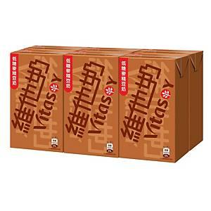 Vitasoy 維他奶 麥精低糖 豆奶250毫升 - 6包裝