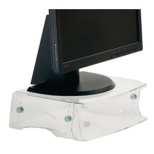 Ergo 2000 monitor standaard adjustable height transparant