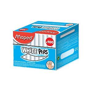 Dustless Board Chalk White - Pack Of 100