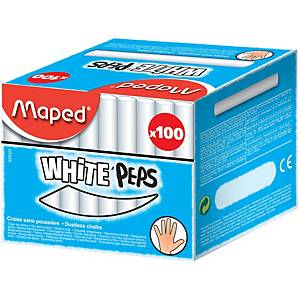 Dustless Board Chalk White - Pack of 100