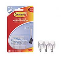 PK3 3M 17067 COMMAND SMALL WIRE HOOKS