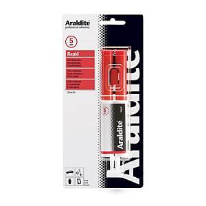 Colle spéciale Araldite Rapid, adhésif à 2 composants, tube 2 x 12 ml