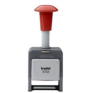 Trodat 5756 Plastic Automatic Numbering Machine 4mm 26 X 4mm