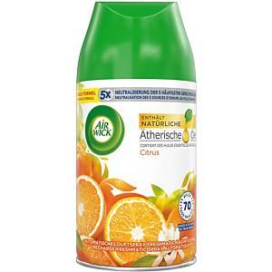 Rechrge pr désodorisant d ambiance Airwick Freshmatic Agrumes, 250ml, citron