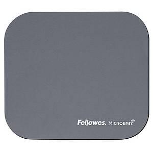 Tappetino mouse con Microban® Fellowes grigio