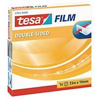 Dobbeltklebende tape Tesa, 19 mm x 33 m