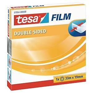 Dubbelhäftande monteringstejp Tesa, 19mm x 33m