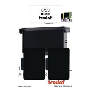 BX2 TRODAT 6/53 R/STAMP INK PAD BLK