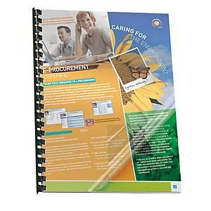 Copertine lucide Pavo PVC trasparente 200 µ A3 - conf. 100