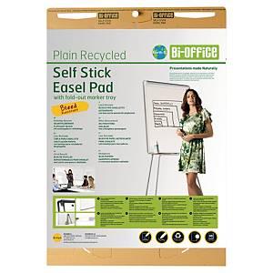 Flipchartblock Bi-Office FL1217507, blanko, 30 Blatt, Packung à 2 Stück