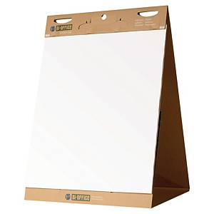 BI-OFFICE EARTH IT SELF STICK TABLE TOP FLIPCHART PAD