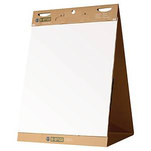 Blocco adesivo da tavolo Bi-Office Earth-it carta riciclata 20 fogli - conf. 6