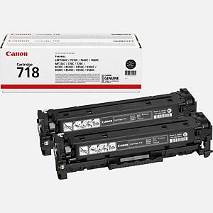 Canon CRG-718 Bk Vp Toner Cartridge Black