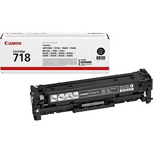 Canon laserový toner CRG-718 (2662B002), černý