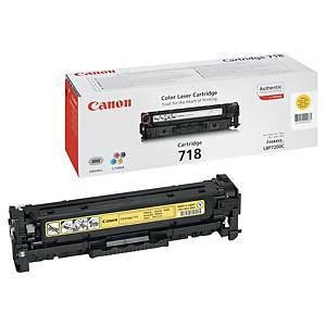 Tóner láser Canon 718Y - amarillo