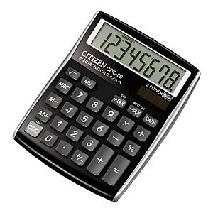 CITIZEN CDC-80  CALCULATOR 8 DIGITS BLACK