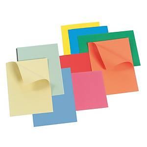 Cartelletta semplice Arca cartoncino manilla 300 g/mq blu vivace - conf. 25